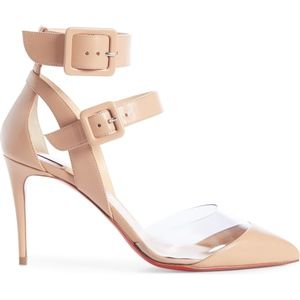 Christian Louboutin Shoes - CHRISTIAN LOUBOUTIN Multimiss Buckle Sandal
